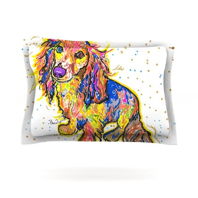 Leela by Rebecca Fischer Featherweight Pillow Sham Size: Queen, Fabric: Cotton