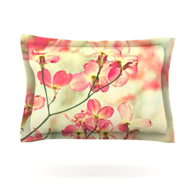 Morning Light by Sylvia Cook Featherweight Pillow Sham Size: Queen, Fabric: Cotton