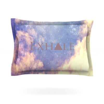 Exhale by Rachel Burbee Featherweight Pillow Sham Size: King, Fabric: Cotton