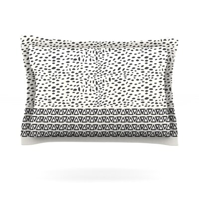 Wind Day by Pom Graphic Design Featherweight Pillow Sham Size: King