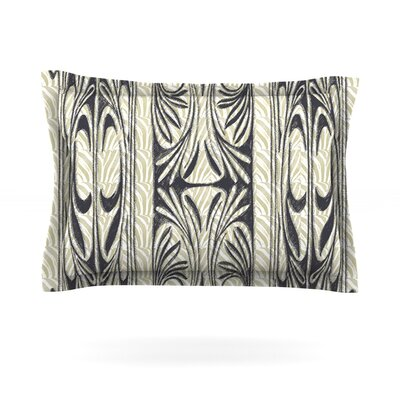 The Palace by Vikki Salmela Featherweight Pillow Sham Size: King, Fabric: Cotton