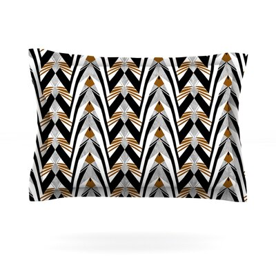 Wings by Vikki Salmela Featherweight Pillow Sham Size: King, Fabric: Cotton