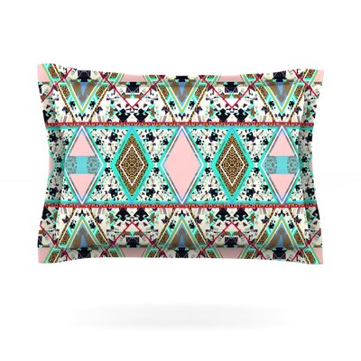 Deco Hippie by Vasare Nar Featherweight Pillow Sham Size: Queen, Fabric: Cotton