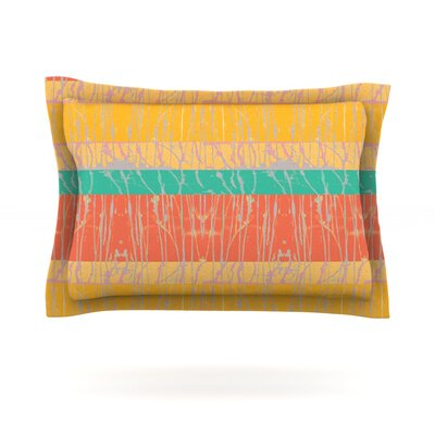 Desert Splatter by Nina May Featherweight Pillow Sham Size: Queen, Fabric: Cotton