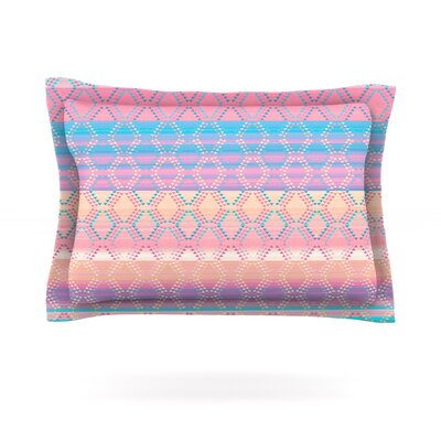 Denin & Diam New Mexico by Nina May Featherweight Pillow Sham Size: King, Fabric: Cotton