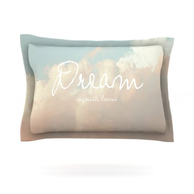 Dream by Suzanne Carter Featherweight Pillow Sham Size: King, Fabric: Cotton