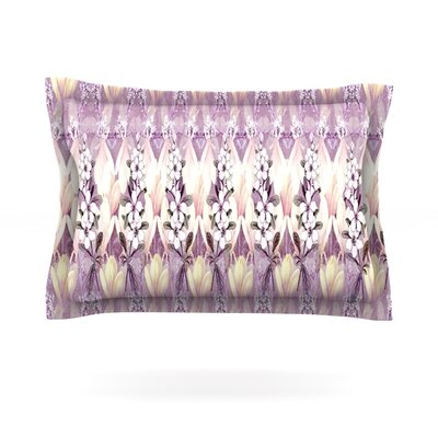 Laurel85 by Suzanne Carter Featherweight Pillow Sham Size: King, Fabric: Cotton