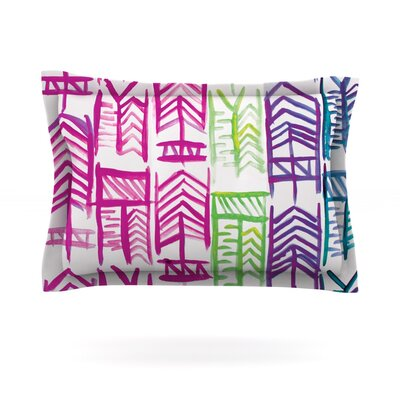 Quiver III by Theresa Giolzetti Featherweight Pillow Sham Size: Queen, Fabric: Cotton