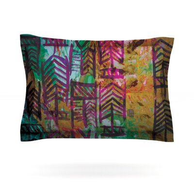 Quiver IV by Theresa Giolzetti Featherweight Pillow Sham Size: Queen, Fabric: Cotton