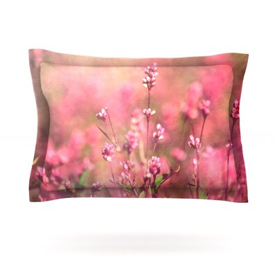 Its a Sweet Sweet Life by Robin Dickinson Featherweight Pillow Sham Size: Queen, Fabric: Cotton
