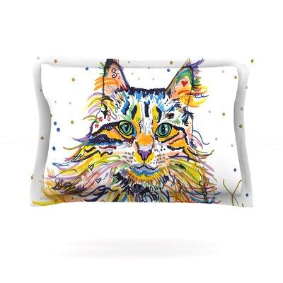 Leo by Rebecca Fischer Featherweight Pillow Sham Size: Queen, Fabric: Cotton