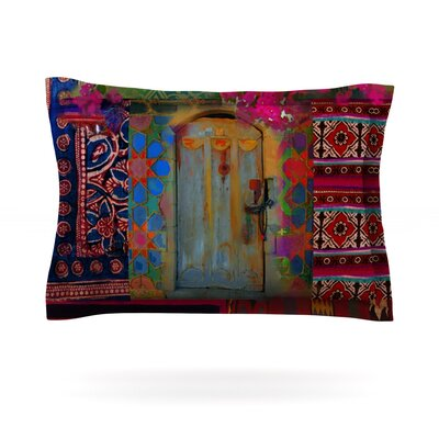 Ethnic Escape by S. Seema Z Featherweight Pillow Sham Size: King, Fabric: Cotton