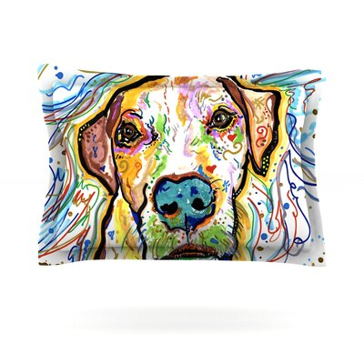 Ernie by Rebecca Fischer Featherweight Pillow Sham Size: King, Fabric: Cotton