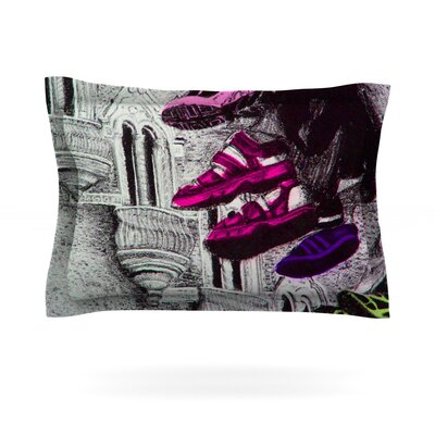 Shoes in SF by Theresa Giolzetti Featherweight Pillow Sham Size: Queen, Fabric: Cotton