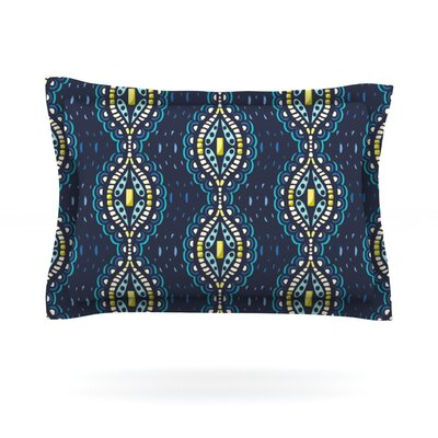 Ogee Lace by Suzie Tremel Featherweight Pillow Sham Size: Queen, Fabric: Woven Polyester