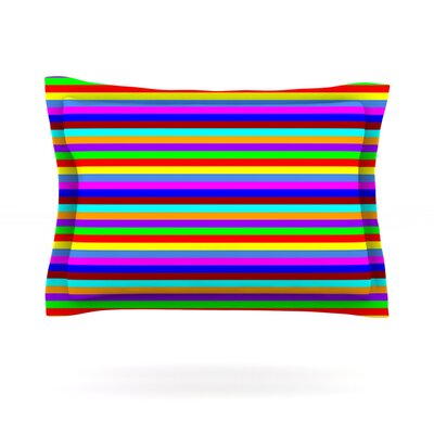 Bombon by Trebam Featherweight Pillow Sham Size: King, Fabric: Cotton