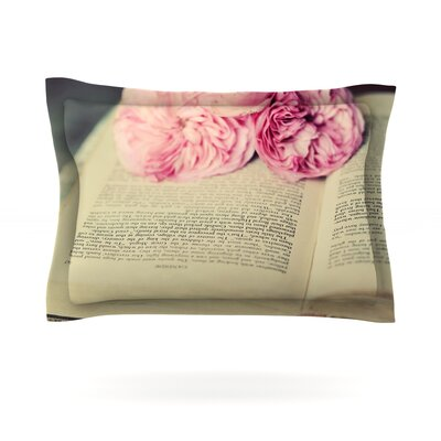 A Good Read by Cristina Mitchell Featherweight Pillow Sham Size: Queen, Fabric: Cotton