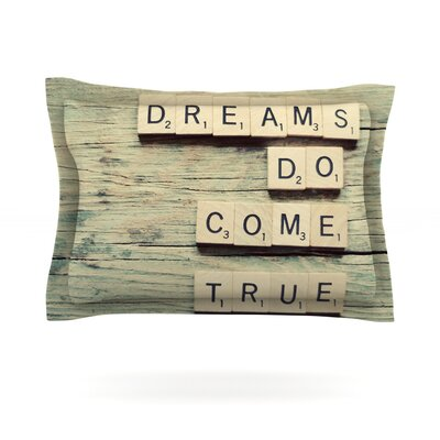 Dreams by Cristina Mitchell Featherweight Pillow Sham Size: King, Fabric: Cotton