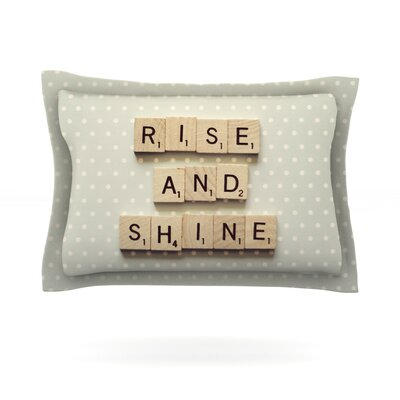 Rise and Shine by Cristina Mitchell Featherweight Pillow Sham Size: King, Fabric: Cotton