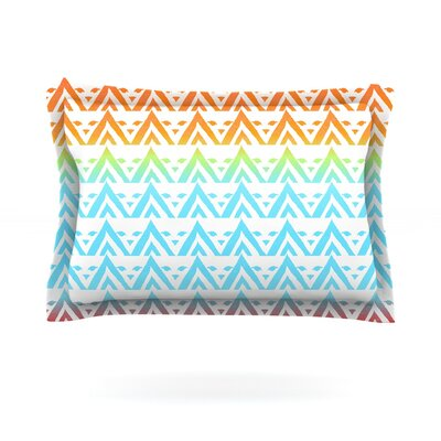 Antilops Pattern by Frederic Levy-Hadida Featherweight Pillow Sham Size: King, Fabric: Cotton