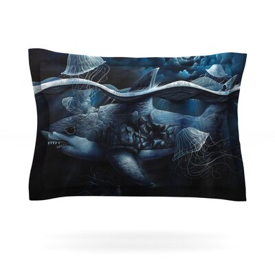 Invictus by Graham Curran Featherweight Pillow Sham Size: King, Fabric: Cotton