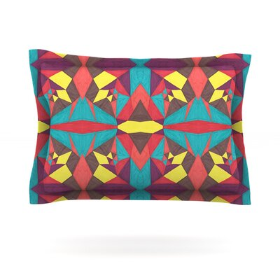 Abstract Insects by Empire Ruhl Featherweight Pillow Sham Size: Queen, Fabric: Cotton