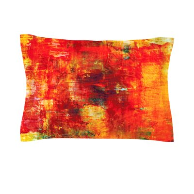 Autumn Harvest by Ebi Emporium Featherweight Pillow Sham Size: Queen, Fabric: Cotton
