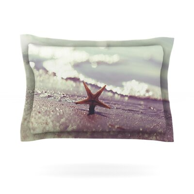 You are a Star by Libertad Leal Featherweight Pillow Sham Size: Queen, Fabric: Cotton