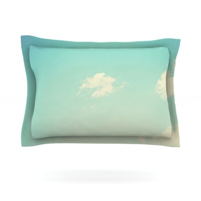 Cloud 9 by Libertad Leal Featherweight Pillow Sham Size: King, Fabric: Cotton