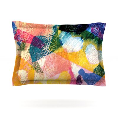 Texture by Louise Machado Featherweight Pillow Sham Size: Queen, Fabric: Cotton