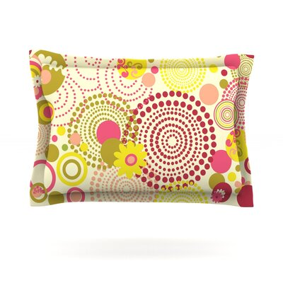 Poa by Louise Machado Featherweight Pillow Sham Size: King, Fabric: Cotton