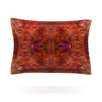 Sedona by Nikposium Featherweight Pillow Sham Size: King, Fabric: Cotton