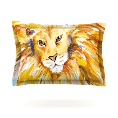 Wild One by Padgett Mason Featherweight Pillow Sham Size: Queen, Fabric: Cotton