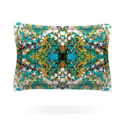 Summer Breeze by Nikposium Featherweight Pillow Sham Size: King, Fabric: Cotton