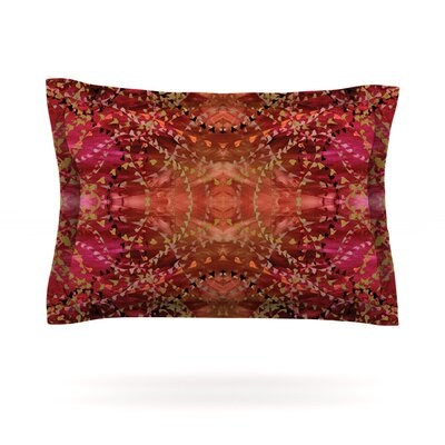 Summer by Nikposium Featherweight Pillow Sham Size: King, Fabric: Cotton