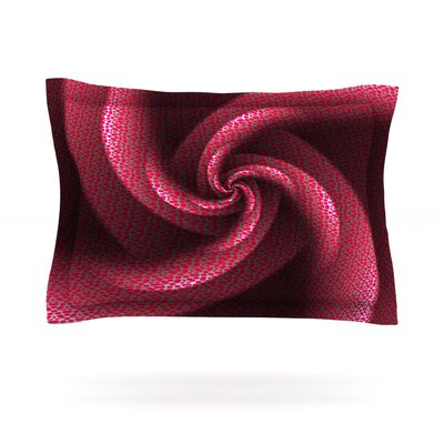 Isabellas Pinwheel by Michael Sussna Featherweight Pillow Sham Size: Queen, Fabric: Cotton