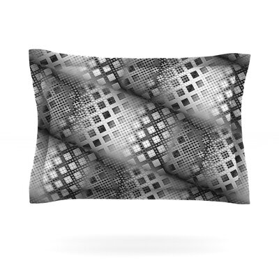 Array Decay by Michael Sussna Featherweight Pillow Sham Size: King, Fabric: Cotton