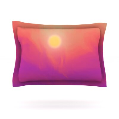 Yosemite Dawn by Michael Sussna Featherweight Pillow Sham Size: King, Fabric: Cotton
