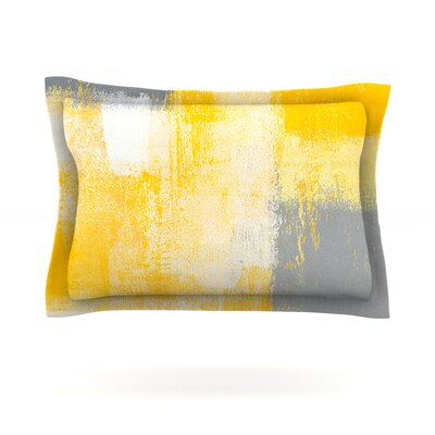 Breakfast by CarolLynn Tice Featherweight Pillow Sham Size: Queen, Fabric: Cotton