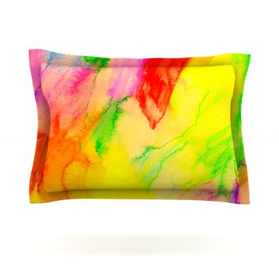Chemical Lovestory by Sreetama Ray Featherweight Pillow Sham Size: Queen