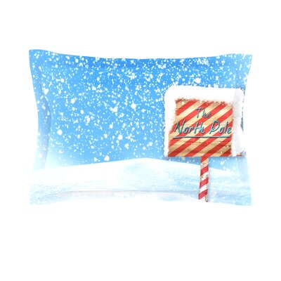 North Pole by Snap Studio Featherweight Pillow Sham Size: King, Fabric: Cotton