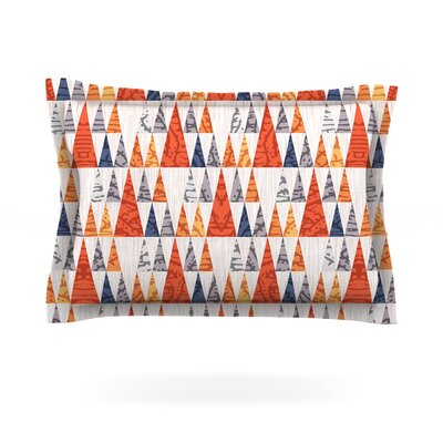 Tepee Town by Daisy Beatrice Featherweight Pillow Sham Size: King, Fabric: Cotton