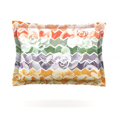Desert Dreams by Daisy Beatrice Featherweight Pillow Sham Size: King, Fabric: Cotton