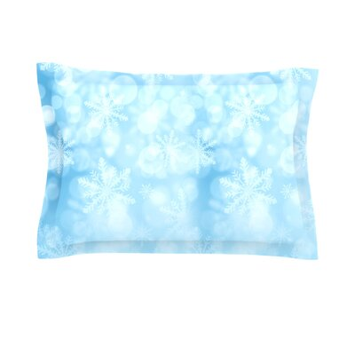 Winter is Coming by Snap Studio Featherweight Pillow Sham Size: Queen, Fabric: Cotton