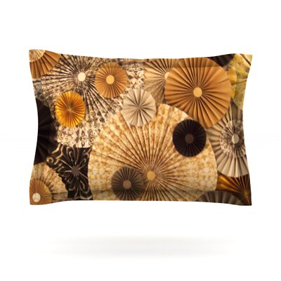 Grounded by Heidi Jennings Featherweight Pillow Sham Size: Queen, Fabric: Cotton