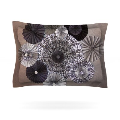 Shadows by Heidi Jennings Featherweight Pillow Sham Size: Queen, Fabric: Cotton