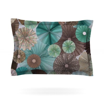 Atlantis by Heidi Jennings Featherweight Pillow Sham Size: Queen, Fabric: Cotton