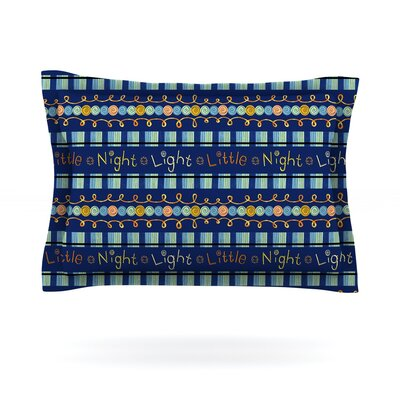 Little Night Light by Jane Smith Featherweight Pillow Sham Size: Queen, Fabric: Cotton