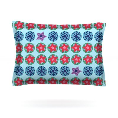 Seasons Winter by Jane Smith Featherweight Pillow Sham Size: King, Fabric: Cotton