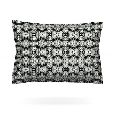 Flor by Matthias Hennig Featherweight Pillow Sham Size: King, Fabric: Cotton